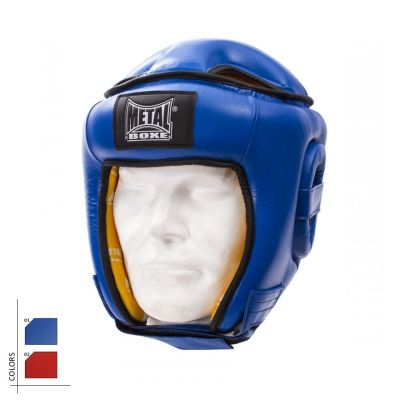Leather Monobloc Headguard